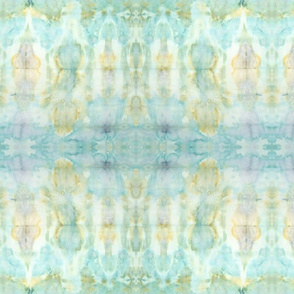 Shibori Aqua Watercolor | Michelle Mathis