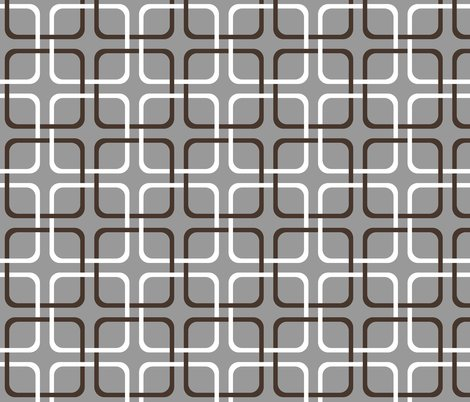 Rrsquircle_lock___modern_cottage___chocolate_and_white_on_pewter___peacoquette_designs___copyright_2014_shop_preview