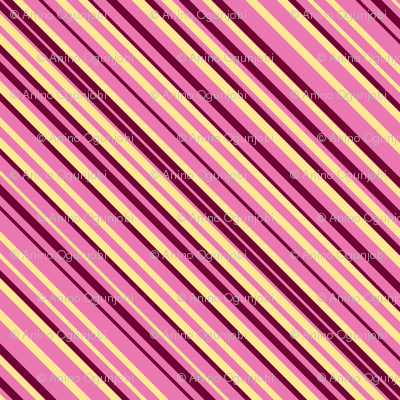 stripe diamonds-pink,yellow, burgundy