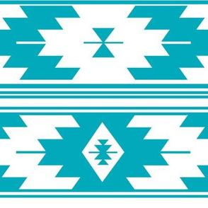 solid turquoise kilim