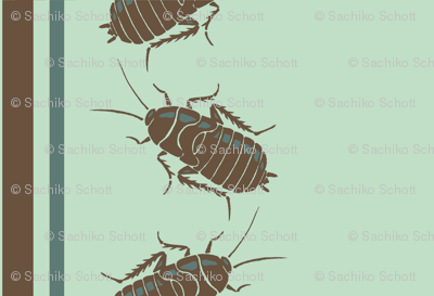 Cockroach Pinstripes