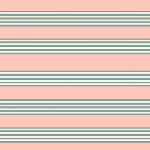 French coral stripe