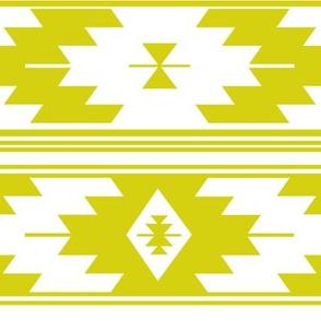 solid citron kilim