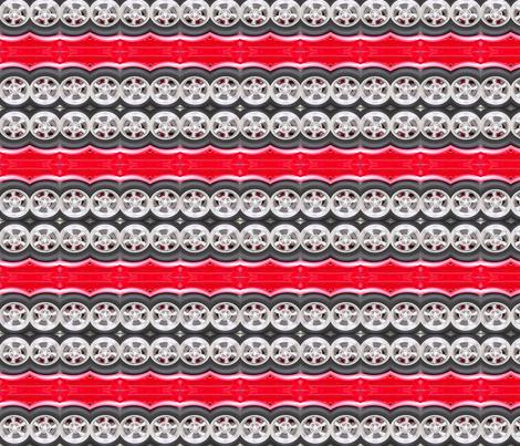 Wheels fabric by koalalady on Spoonflower - custom fabric