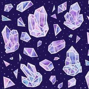 Crystal Asteroid Field