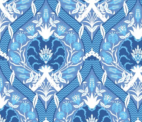 Serpentine 754b fabric by muhlenkott on Spoonflower - custom fabric