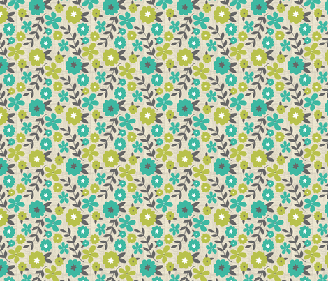 Graphic_Floral fabric by jaclyn_pacheco on Spoonflower - custom fabric