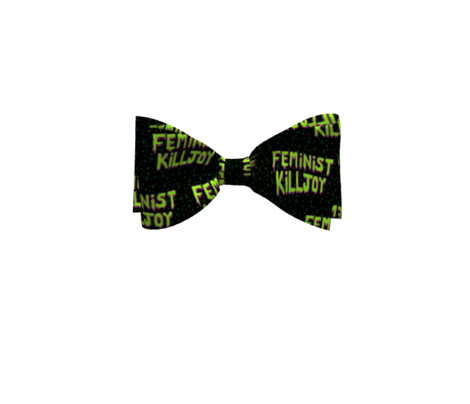 Feminist Killjoy - Alien Green and Black
