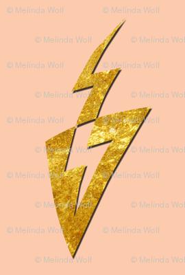 David Bowie Lightning Bolt Tribute