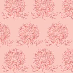 Pinky pink fancy shells