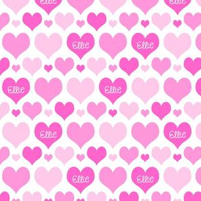 Hearts Pinks Ellie