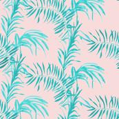 Tropical Palm (rose quartz)