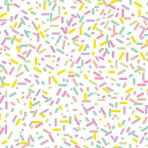 Sprinkled (Vanilla) || sprinkles cupcake donut doughnut dessert sweets ice cream scatter baby nursery children kids pastel