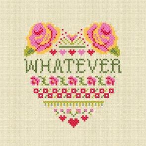 Whatever (8 x 8 panel)