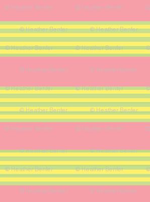 Raspberry limeade stripes