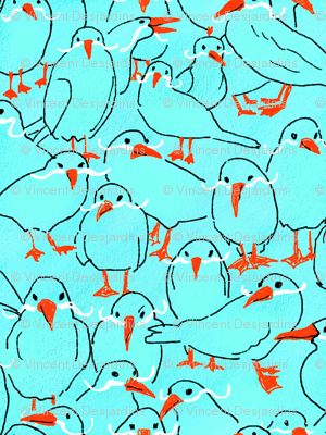Birds and Mustaches