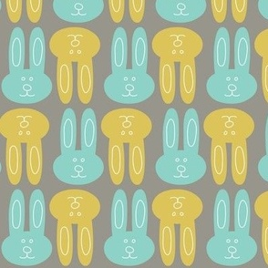 Blue and Yellow Bunnies