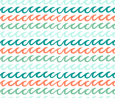 Surfs Up fabric by abbyg on Spoonflower - custom fabric