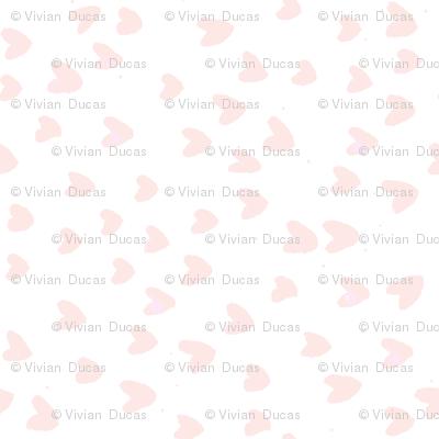 Blush Hearts by C'EST LA VIV