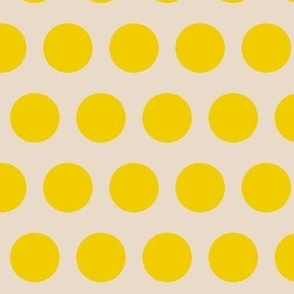 Color dots-yellow