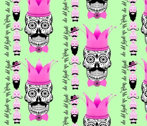 dia del bigote grande fabric by wendymo on Spoonflower - custom fabric