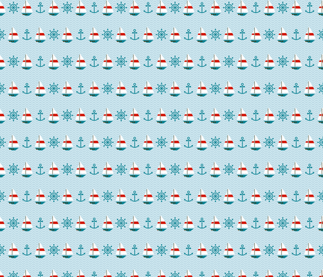 Sea Style fabric by valendji on Spoonflower - custom fabric