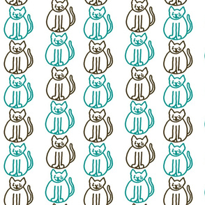 Surf Kitty Stripes