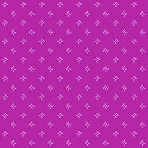pi diamonds in orchid and lilac