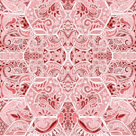 Don't Eat Pink Snow Either fabric by edsel2084 on Spoonflower - custom fabric