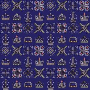 Royalty: Mixed ABCD Rows