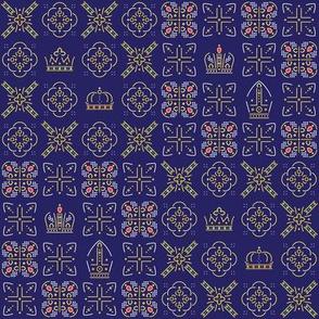 Royalty: Mixed ABCD Squares