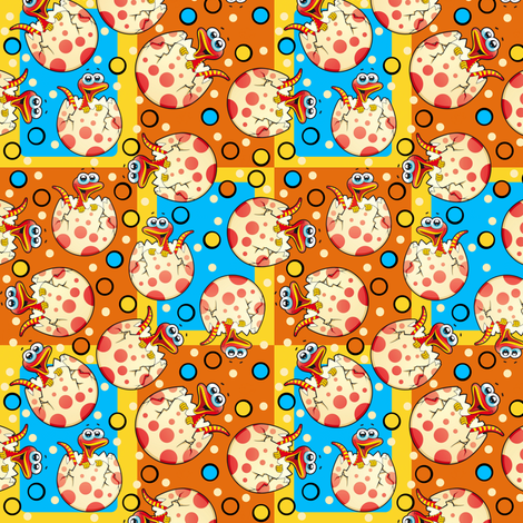 Newborn Snakes fabric by whimzwhirled on Spoonflower - custom fabric