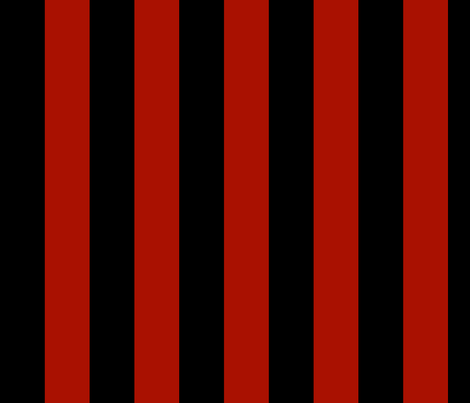 Yo Ho! Stripe ~ Blood Red and Blackmail fabric by peacoquettedesigns on Spoonflower - custom fabric