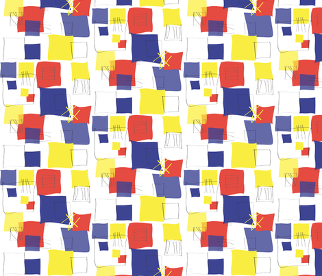 Almost_Square_Window_mondrian_primary fabric by colour_angel_by_kv on Spoonflower - custom fabric