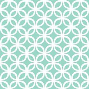 Interlaced Geo Iceburg Tiffany