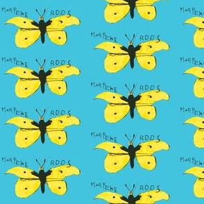 lemon butterflies