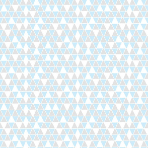 Hex Blue and Grey