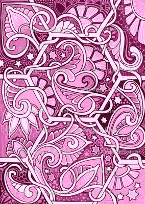 Pink and Paisley Under the Stars