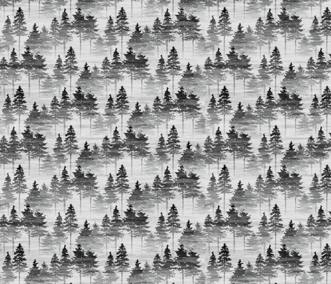 Forest Mist - small fabric by thecalvarium on Spoonflower - custom fabric