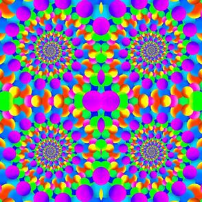 Fractal Art Hippie Pattern