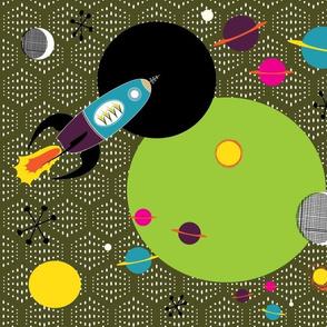 Retro Space flight Avocado