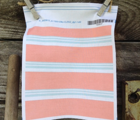 Summer Stripes (Coral/Aqua)