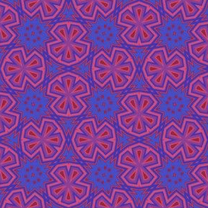Berry Digital Floral Medium