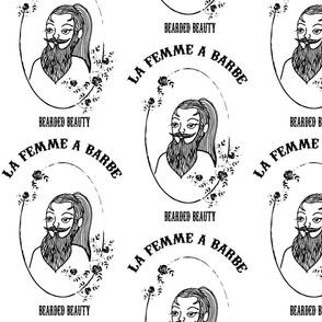 La femme a barbe