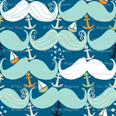 Mustache Waves