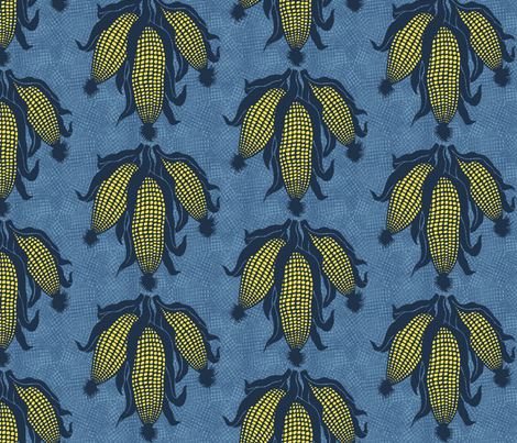 corn#1 fabric by susiprint on Spoonflower - custom fabric