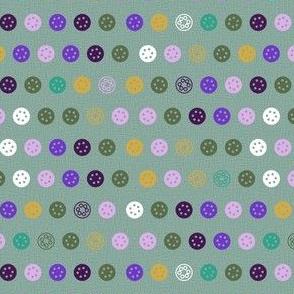 Sewing Notions {Linen Bobbin Dots)
