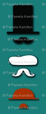 Mustacheo Teal