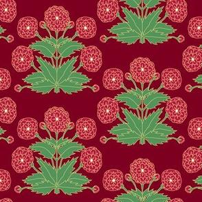 Ancient Carpet Flowers V.
