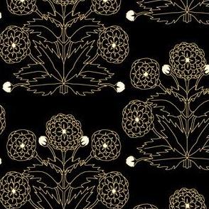 Ancient Carpet Flowers VI.